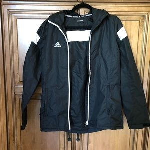 Adidas windbreaker rain jacket